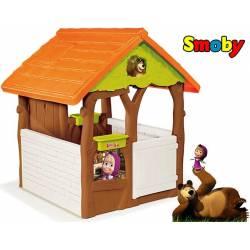 SMOBY Domek ogrodowy Masha i niedźwiedź