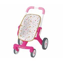 Smoby Baby Nurse Wózek ze skrętnymi kółkami dla lalek Spacerówka