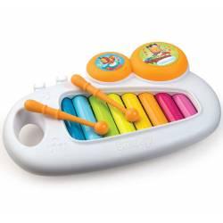 SMOBY KOLOROWE Cymbałki Cotoons Xylophone