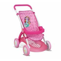 Smoby Wózek Spacerówka dla lalek brokatowa Disney Princess