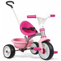 Rowerek Smoby Be Move trzykołowy Różowy Pop ciche koła
