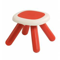 Taboret dla dzieci Smoby w kolorze czerwonym