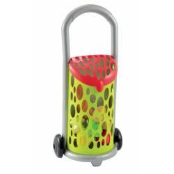 Smoby - Ecoiffier Wózek Koszyk na zakupy z art. spożywczymi