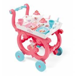 Smoby Wózek z tacą i kompletem zastawy Disney Princess