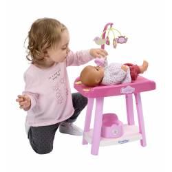 Kącik Opiekunki przewijak Krzesełko wanienka Ecoiffier