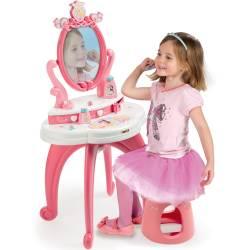 Toaletka z bezpiecznym lustrem Smoby Disney Princess + Taboret