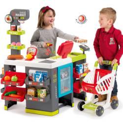 Smoby Maxi Market 50 akcesoriów Wózek sklepowy