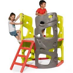 Smoby Wieża Wspinaczkowa Zjeżdżalnia Plac Zabaw