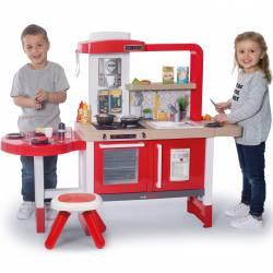 Smoby Elektroniczna Kuchnia Dla Dzieci Grand Chef Taborecik + 43 Akcesoria