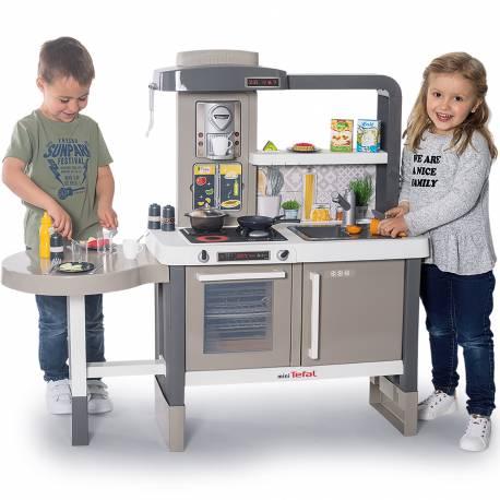 Smoby Duża Kuchnia Dla Dzieci Tefal Evolutive 40 Akc Oficjalny Sklep Z Zabawkami Smoby