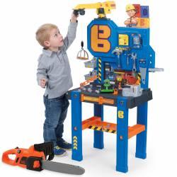 Warsztat Bab Budowniczy Bricolo Center z dźwigiem dla dzieci