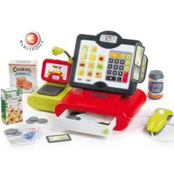 Smoby Elektroniczna Kasa Sklepowa Dla Dzieci z Kalkulatorem
