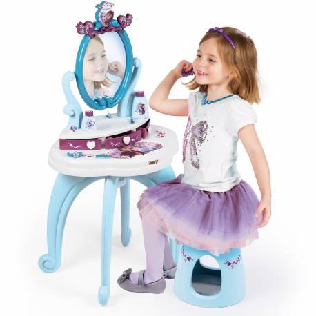 Smoby Toaletka 2w1 Kraina Lodu Frozen Dla Dzieci Lustro